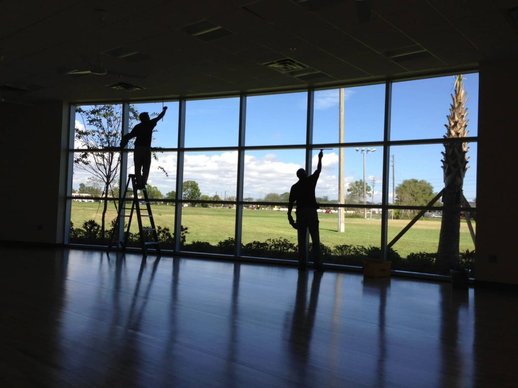 commercial office window cleaning melbourne florida