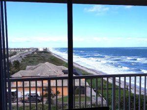 Satellite Beach Condo window cleaning