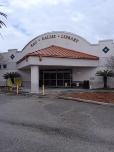 eau gallie library window cleaning