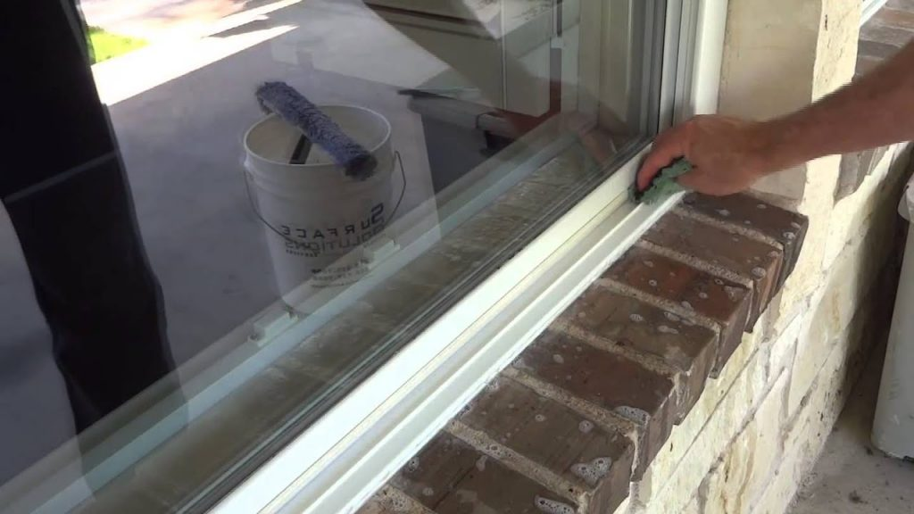 window track cleaning
